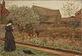 Frederick Walker, The Old Farm Garden, 1871.jpg