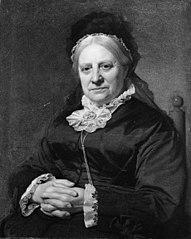 Portræt af fru Dorothea Frederiksen, f. Heering