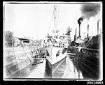 French warship BELLATRIX in Morts Dock in Balmain, 1930-1932 (7633483774).jpg
