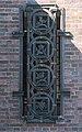 Friedhof Ohlsdorf (Hamburg-Ohlsdorf).Neues Krematorium.Bauschmuck.Kuöhl.Kreisornamente.3.Südflügel.rechts.29622.ajb.jpg