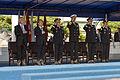 From left, U.S. Secretary of Defense Chuck Hagel; South Korean Minister of Defense Kim Kwan-jin; Chairman of the Joint Chiefs of Staff U.S. Army Gen. Martin E. Dempsey; U.S. Navy Adm. Samuel J. Locklear III 131002-D-KC128-338.jpg