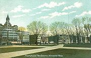 Front Street and The Common, Worcester, MA