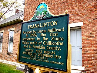 Franklinton, Columbus, Ohio human settlement in the United States of America