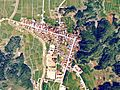 Fukura-shuku Right angled Historical road Aerial Photograph.jpg