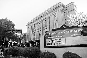 Full Frame Documentary Film Festival - The Carolina Theatre in Durham, NC is the main venue for the festival.