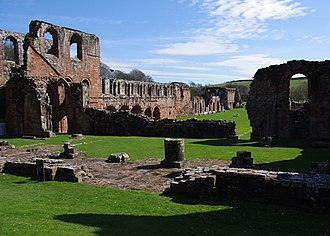 Barrow-in-Furness - Furness Abbey, one of England's most powerful monasteries in the Middle Ages