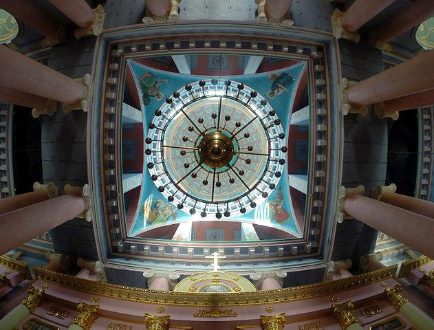 Розпис куполу Свято-Преображенського собору в Новгороді-Сіверському, © Максим Зубов, ліцензія CC-BY-SA-4.0