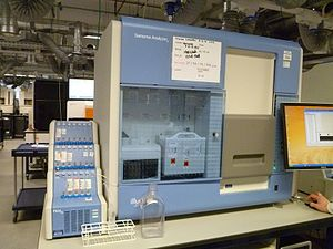 DNA sequencer - Illumina Genome Analyzer II sequencing machine