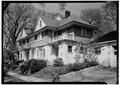 GENERAL VIEW OF FRONT - Kellogg House, Lancaster and Euclid Avenue, Syracuse, Onondaga County, NY HABS NY,34-SYRA,29-1.tif