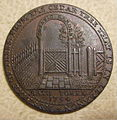 GREAT BRITAIN, ENGLAND, CITY OF BATH 1794 BOTANICAL GARDENS HALFPENNY CONDOR TOKEN 1794 a - Flickr - woody1778a.jpg