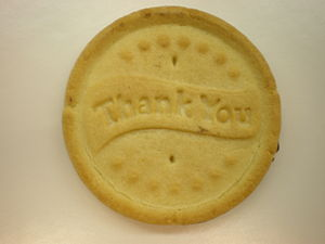 A Girl Scouts of the USA All Abouts cookie wit...