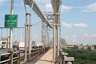 George Washington Bridge - Southern sidewalk