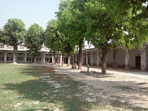 Derapur - Image: Galuwapur Inter College