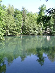 Le lac de Charance