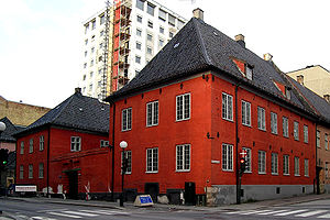 Norwegian Authors' Union - Rådhusgata 7, Oslo serves as offices for the Norwegian Authors' Union, the Norwegian Critics' Association, the Norwegian Writers for Children and the Writers' Guild of Norway.