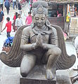 Garud Statue of Hanuman-Dhoka Durbar Square.JPG
