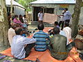 Gathering in a meeting of villagers in an Bangladeshi village 2015 46.jpg