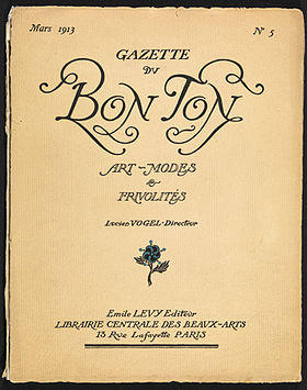image illustrative de l'article Gazette du bon ton