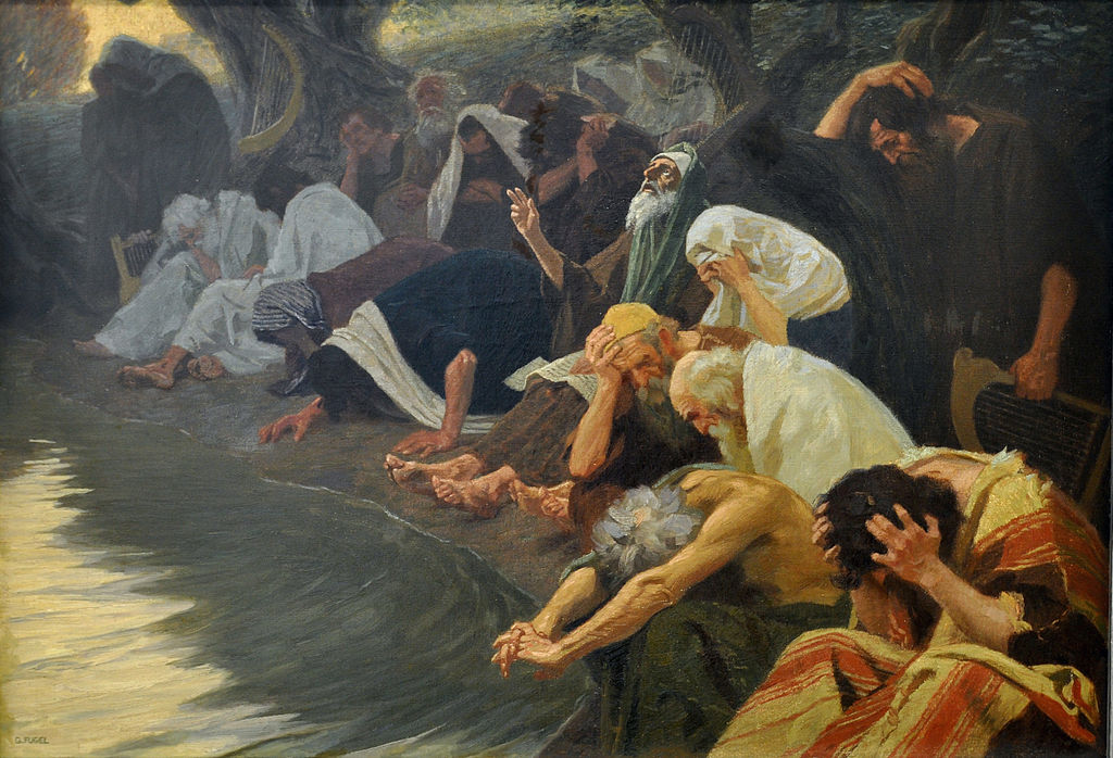 An den Wassern Babylons by Gebhard Fugel