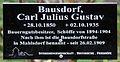 Gedenktafel Hönower Str 13 (Mahld) Carl Julius Gustav Bausdorf.jpg