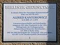 Gedenktafel Kreuznacher Str 48 (Wilmd) Alfred Kantorowicz.JPG