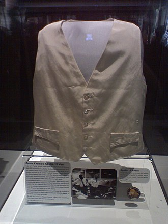 Gene Kranz - Kranz's vest and pin from the Apollo 13 mission, currently in the National Air and Space Museum