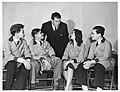 Gene Tunney (1897-1978) and science fair participants, September 24, 1940 (4405670187).jpg
