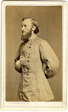 Major-General John S. Marmaduke, portrait carte de visite by Charles D. Fredricks