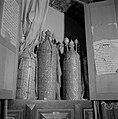 Geopende Heilige Arke met Thorarollen in de Banna'asynagoge van Safad (Safed), Bestanddeelnr 255-4025.jpg