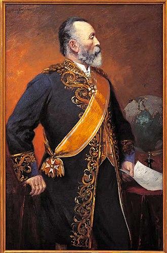 Heinrich von Stephan - Portrait of Heinrich von Stephan