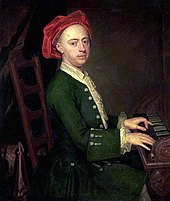"""The Chandos portrait of Georg Friedrich Händel""by James Thornhill, c. 1720 (Source: Wikimedia)"