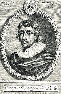 Georg Rudolf Weckherlin German poet