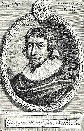 Georg Rodolf Weckherlin