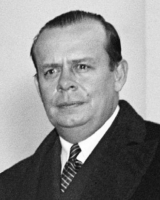 George E. Allen - George E. Allen as DC Commissioner (1937)