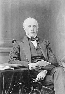 George Brown (Canadian politician) Scottish-born Canadian journalist, politician and one of the Fathers of Confederation