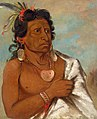George Catlin - U'sh-ee-kitz, He Who Fights with a Feather, Chief of the Tribe - 1985.66.68 - Smithsonian American Art Museum.jpg