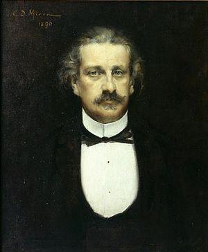 Alexandru Odobescu - Alexandru Odobescu, portrait by George Demetrescu Mirea