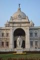 George Nathaniel Curzon - Marble Statue By Frederick William Pomeroy - Victoria Memorial Hall - Kolkata 2018-02-17 1306.JPG