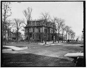 Prairie Avenue - George Pullman residence: 1729 S. Prairie Ave. (c. 1900)