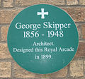 George Skipper Plaque.JPG