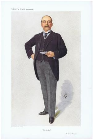"George Younger, 1st Viscount Younger of Leckie - George Younger caricatured by ""HCO"" in Vanity Fair, 1910"