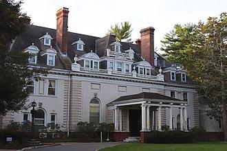 Georgian Court University - Mansion, in 2017