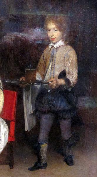 Rhinegraves - Image: Gerard ter borch, concerto con cantante e suonatrice di liuto, 1657 ca. 03