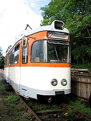German tram at Whitwell & Reepham railway station (geograph 3154375).jpg