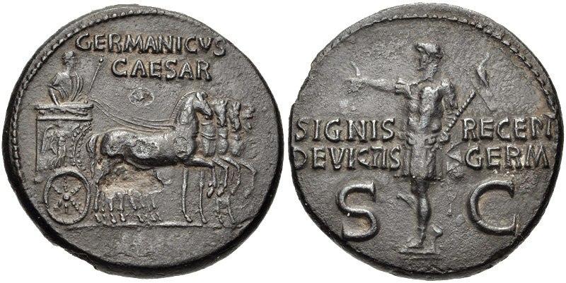 Germanicus Dupondius 19 2010354