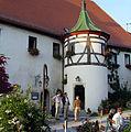 Germany-Hohenentringen-Entrance tower-2005-10-08.jpg