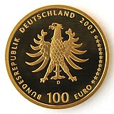 Germany Goldeuro 2003 Quedlinburg Wertseite IMG 2217.jpg