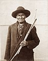 Geronimo, Apache Chief from Arizona in the Department of Anthropology at the 1904 World's Fair.jpg