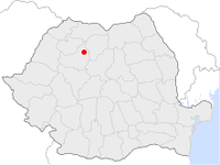 Location of Dej