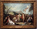 Giambattista o giandomenico tiepolo, incontro tra anzia e abrocome alle feste di diana, 1743-44.jpg